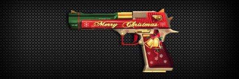 穿越火线枪战王者绝版沙鹰-圣诞怎么获得? CF手游沙鹰-圣诞获取攻略[图]