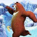 冰雪跑酷熊出没