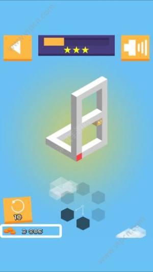 3D视觉错觉解谜游戏图5
