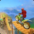 自行车特技赛车游戏
