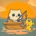 贪吃猫钓鱼最新版