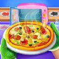 疯狂的比萨饼制造商烘焙厨师游戏