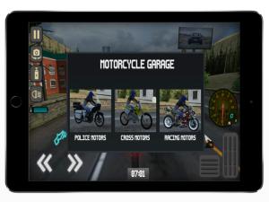 快速危险摩托车游戏图1