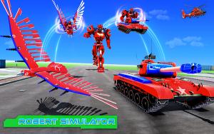 鹰机器人飞行模拟2020游戏图1