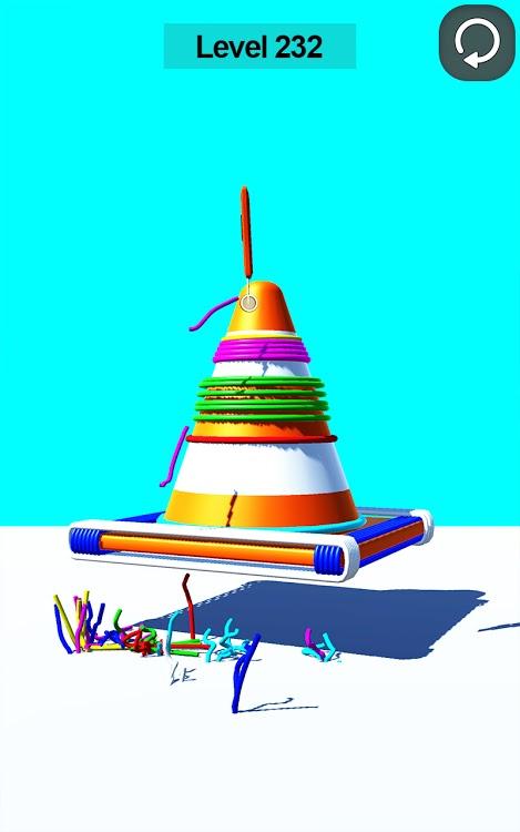 ASMR超级满意的橡皮筋刀切割游戏图片2