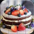 砖拼图蛋糕