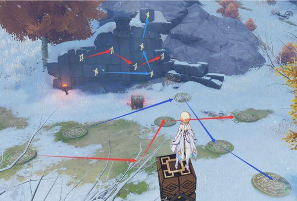 原神雪山踩地板攻略图片1