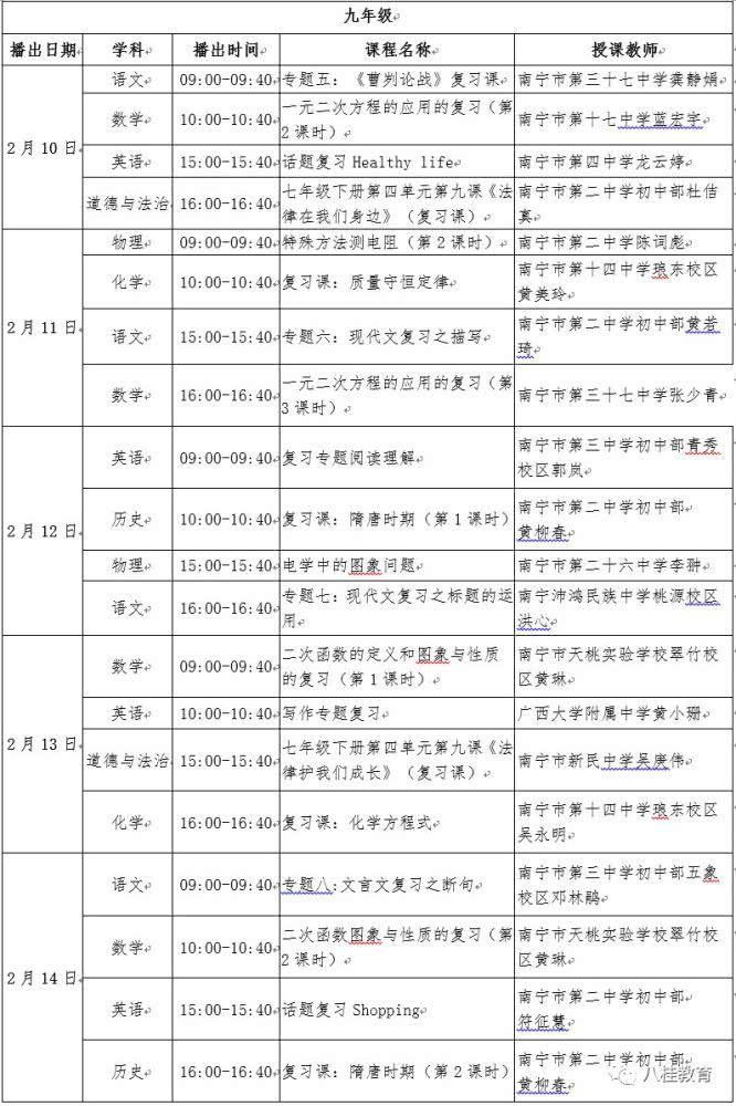 广西空中课堂app图片9