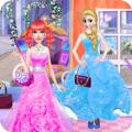 时装商店女孩装扮游戏
