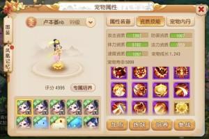 梦幻西游手游特殊技能宠物养成推荐 冠军宠物养成攻略图片3