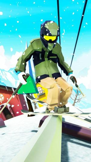 滑雪激斗赛游戏图1