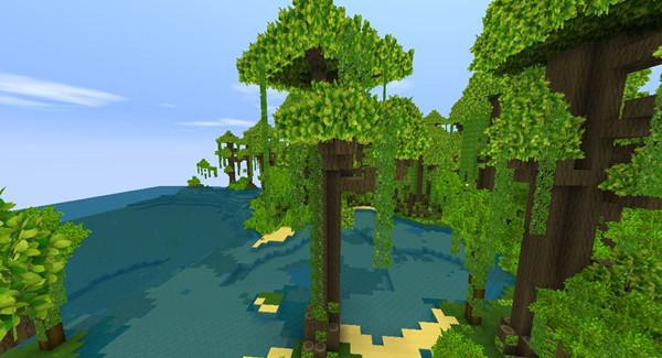 迷你世界2021雨林地形码是多少?雨林地形码分享[多图]图片3