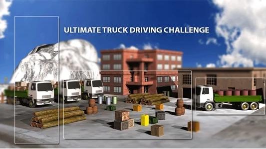 高速卡车爬山游戏图片2