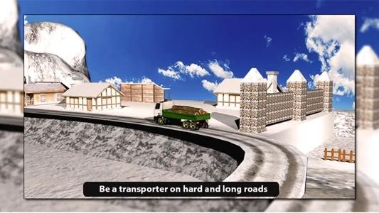 高速卡车爬山游戏图片1