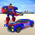 警察机器人英雄改造机器人