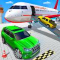 飞机停车场普拉多汽车驾驶