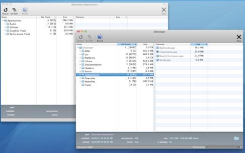 Mac文件数量及空间占用统计工具(AllAboutFiles)官方版 v2.0 免费版